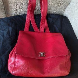 🛑🚩Chanel Caviar Backpack